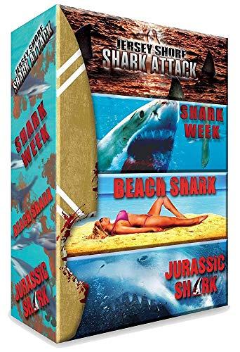 Requins : Jersey Shore Shark Attack + Shark Week + Beach Shark + Jurassic Shark [Francia] [DVD]