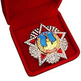<span class='highlight'>Trikoty</span> <span class='highlight'>Order</span> <span class='highlight'>of</span> Victory WW2 Highest <span class='highlight'>Soviet</span> Award for Generals and Marshals Military <span class='highlight'>Medal</span> Decoration USSR Badge CCCP Historical Reproduction with Presentation Box