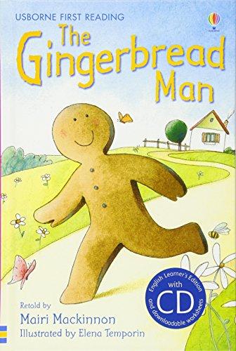 The gingerbread man. Con CD Audio: Usborne English-Lower Intermediate (Level 3) (Usborne First reading)