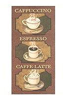 I.F.I グリーティングカード VINTAGE ヴィンテージ広告 コーヒー CAFFE VP123