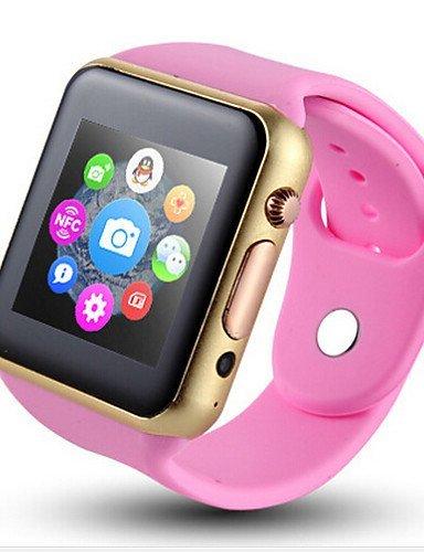 Q10 2015 últimos relojes inteligentes podómetro contador de calorías distancia monitor de sueño sedentario para Android y iOS, negro