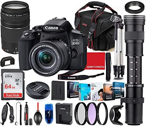 Canon EOS 850D (Rebel T8i) DSLR Cam…