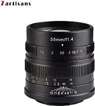7artisans Photoelectric 55mm f/1.4 Lens for Sony E Mount - Black