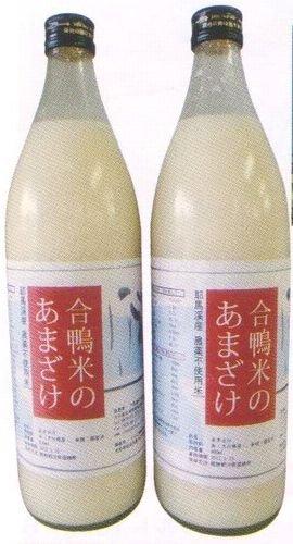下郷農協 大分県産アイガモ米使用 合鴨米あまざけ 900ml