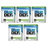 BlueDEF Diesel Exhaust Fluid Synthetic Urea Deionized Water 2.5 Gallon (5 Pack)