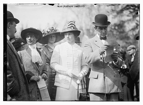 HistoricalFindings Photo: Miss Marion Hollins,1892-1944,American Amatuer Golfer,Born in East Islip,NY