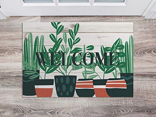 Oedim Zerbino Welcome per camere in PVC, 60 x 40 cm, Moquette PVC, Pavimento vinilico, Decorazione per la casa, Pavimento Sintasol, Protezione per Bambini