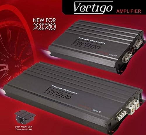 Power Acoustick VA4-2200D 2200W 4ch Class A/B Amplifier