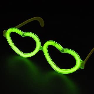 Party Props Festival Supplies Fluorescence Glasses Glow Sunglasses Luminous Club