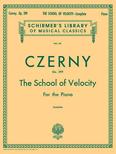 Carl Czerny The School Of Velocity Op.299 (Complete)