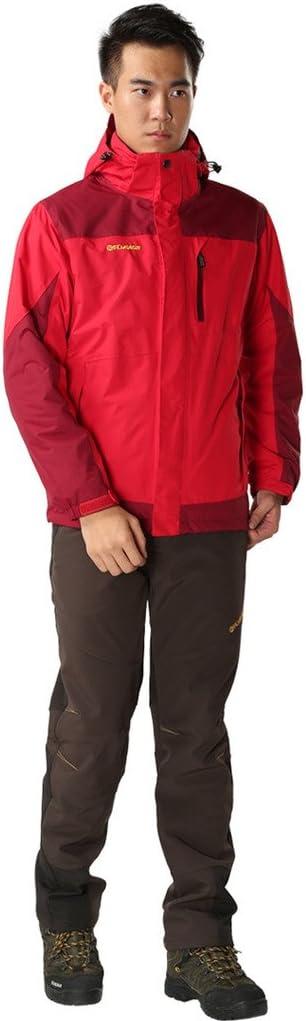 Lakaka Pantalon de trekking pour femme chaud Softshell en polaire long /étanche /à s/échage rapide Pantalon Camping Randonn/ée Trekking