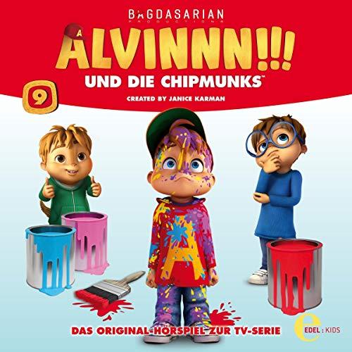 Alvinnn!!! und die Chipmunks 9. Das Original-Hörspiel zur TV-Serie Titelbild