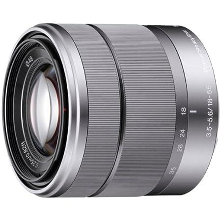Sony Sel 1855 Standard Zoom Objektiv Silber Kamera