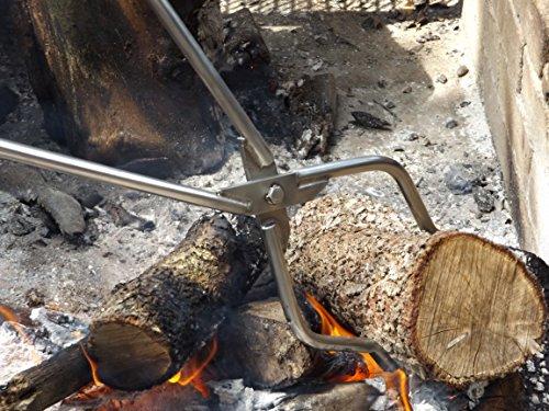 Genuine Stainless Tongs 42' Log Grabber TM