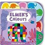 Elmer's Colours: Tabbed Board Book [Lingua inglese]