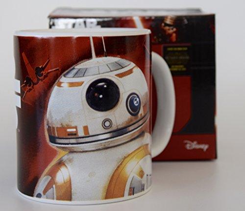 Disney SW de stw26–18kcecbz–Star Wars Taza Porcelana en del Paquete de Regalo
