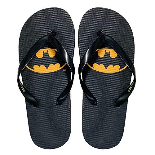 DC Comics Batman 2605 Tongs en caoutchouc pour enfant - Noir - Noir , 36/37 EU EU