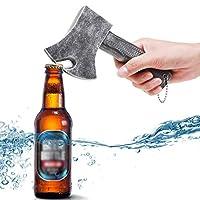 【MATÉRIEL】 Ce décapsuleur est en ABS + métal. L'ouvre-bouteille est durable, résistant à la corrosion, sans rouille et a une excellente finition qui peut garantir une longue durée de vie 【PRATIQUE】 Appliqué aux ouvre-bouteilles de bière, largement ut...