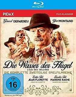 Die Wasser der Hügel (Jean Florette + Manons Rache) / Zweiteiliges Epos mit Yves Montand und Gérard Depardieu (Pidax Film-Klass