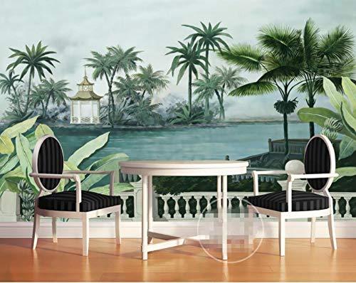 Wall Murals,Custom Wallpaper Mural 2021 model Hand-Painted Garden Direct sale of manufacturer Banana