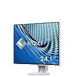 EIZO EV2457 LED display 61,2 cm (24.1') WUXGA Plana Blanco - Monitor (61,2 cm (24.1'), 1920 x 1200 Pixeles, WUXGA, LED, 5 ms, Blanco)