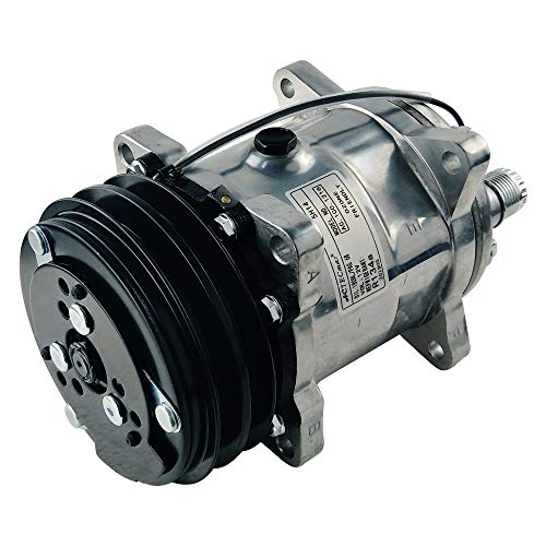 ACTECmax Universal A/C Compressor with 2PK Clutch 508 V Belt Style...