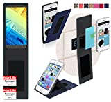 Hülle für Alcatel A7 XL Tasche Cover Case Bumper   Blau  