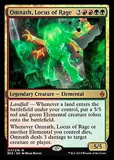 Magic: the Gathering - Omnath, Locus of Rage (217/274) - Battle for Zendikar