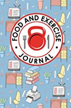 Food and Exercise Journal: Daily Food Diary, Food Diary Template, Food And Exercise Log, Food Tracking Journal (Food and Exercise Journals) (Volume 36)