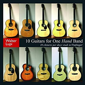 10 Guitars For One Hand Band