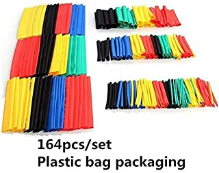 127/164/328/530Pcs/Set Assorted Heat Shrink Tube Black/Colorful Wire Wrap Electrical Insulation Cable Sleeving 2-13Mm 40% ...