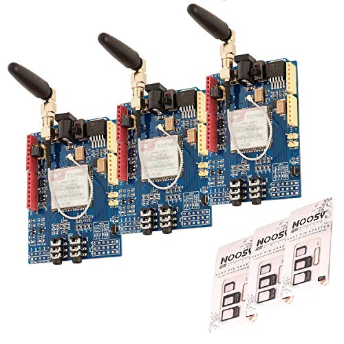 AZDelivery 3 x SIM 900 GPRS/GSM Shield kompatibel mit Arduino inklusive E-Book!