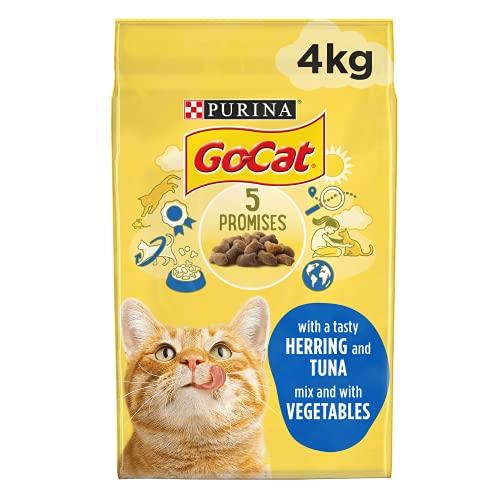 Go-Cat Adult Dry Cat Food Tuna Herring & Veg 4kg