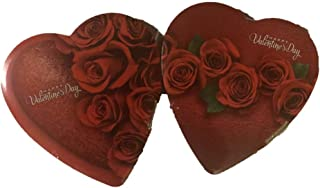 Elmer Celebrate With Chocolate Valentine Heart Box 6.8 Ounce (Rose Design Varies) Happy Valentines Day! (2 Boxes Included)