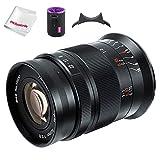 7artisans 60mm F2.8 II V2.0 Lente macro APS-C, compatible con cámaras Fuji con montura X Cámaras X-A1 X-A10 X-A2 X-A3 A-AT X-M1 XM2 X-T1 X-T3 X -T10 X-T2 X-T20 X-T30 X-Pro1 X-Pro2 X-E1 X-E2 E-E2s X-E3