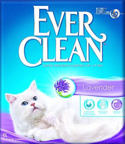 Ever Clean Litière pour Chat Lavande 6L