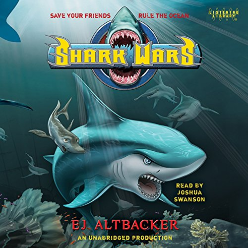Shark Wars audiobook cover art