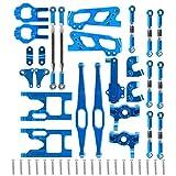 Kit di pezzi di ricambio per auto RC con montaggio a shock portatile con lunga durata per WLtoys 12428/12423 1:12 RC