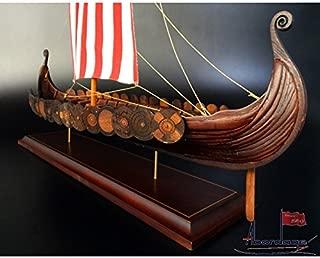 Abordage Drakkar Gokstad Viking Ship Model 9th Century - Museum Quality Ship Model