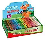 Alpino DP000918 - Plastilina, 12 unidades, multicolor