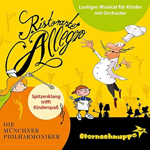 Ristorante Allegro: Lustiges Musical für Kinder mit Orchester (Live-Audio-Mitschnitt)