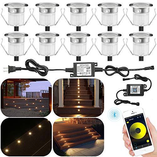 Outdoor Deck Light Kit, 10pcs Φ1.18