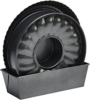 KÖKSKUNGEN - Bakset 4 delar med slitstark non-stickbeläggning. 4-delarsset bestående av pajform 28 cm, långform 26 cm och ...