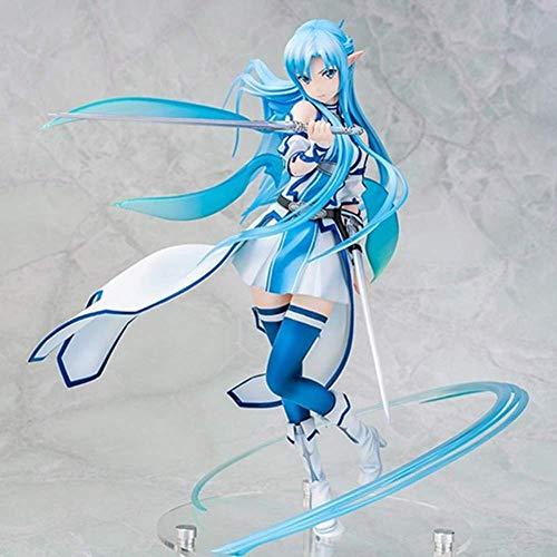 Geschenk Japanische Anime Schwert Art Online Yuuki Asuna 1/7 Figur Handmade PVC Spielzeug Modell Sammlung Geschenk SAO Action Figure Anime Girl Toys