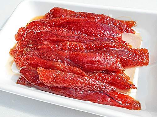 ます筋子塩漬 1kg 業務用トレー入り(塩分濃度4.8%)【出荷元:北海道四季工房】