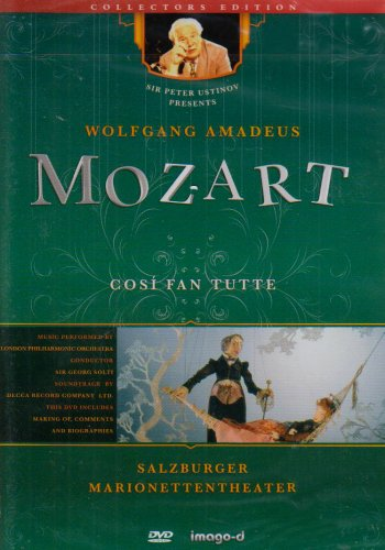 Cosi fan tutte - Salzburger Marionettentheater, 1 DVD