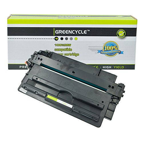 GREENCYCLE 14A CF214A Black Toner Cartridge Replacement Compatible for Laserjet Enterprise 700 M712dn 700 M712xh 700 MFP M725f Printer