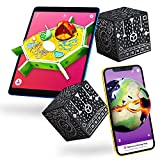 MERGE Cube (2 Pack) Hold Anything - Hands-on Science and STEM Education | Digital Teaching Aids - Science Simulations and STEM Projects - Home School, Remote and in Classroom Learning - iOS & Android
