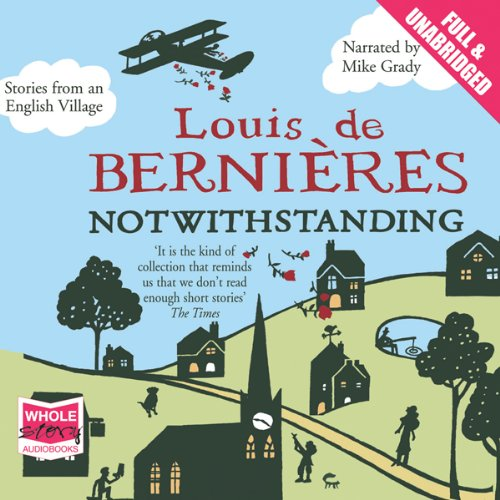 Notwithstanding audiobook cover art
