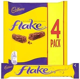 Original Cadbury Flake Chocolate Bar, 80 g (Pack of 4) Imported from the UK England